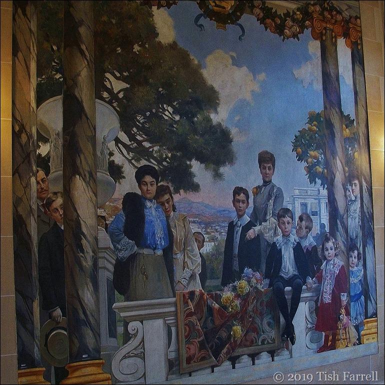 The family who lived in the Palais de Masena
